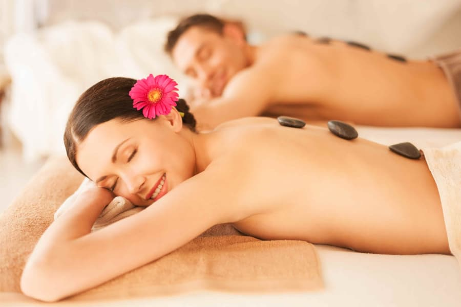 Couples Stone Massage