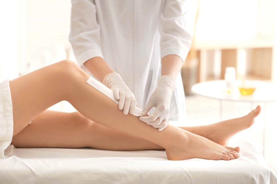 Leg Waxing Service